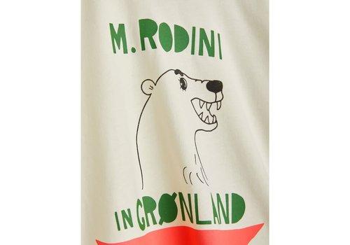 Mini Rodini Mini Rodini Polar Bear Tee Off White
