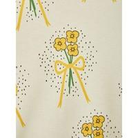 Mini Rodini Winterflowers Turtleneck ls tee