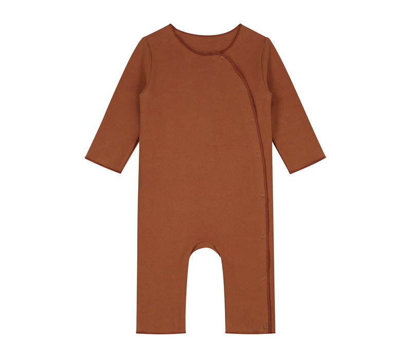 Gray Label Baby Suit with Snaps Autumn