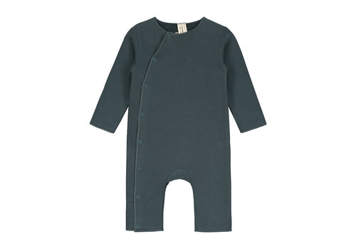 Gray Label Gray Label Baby Suit with Snaps Blue Grey