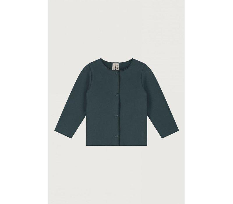Gray Label Baby Cardigan Blue Grey
