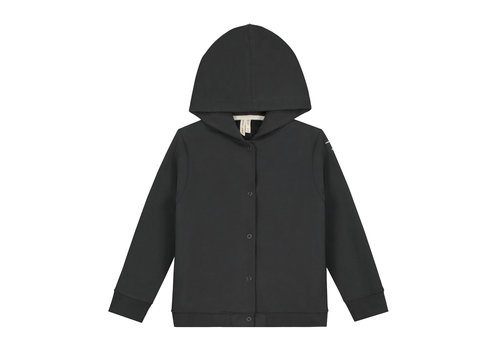 Gray Label Gray Label Hooded Cardigan Nearly Black