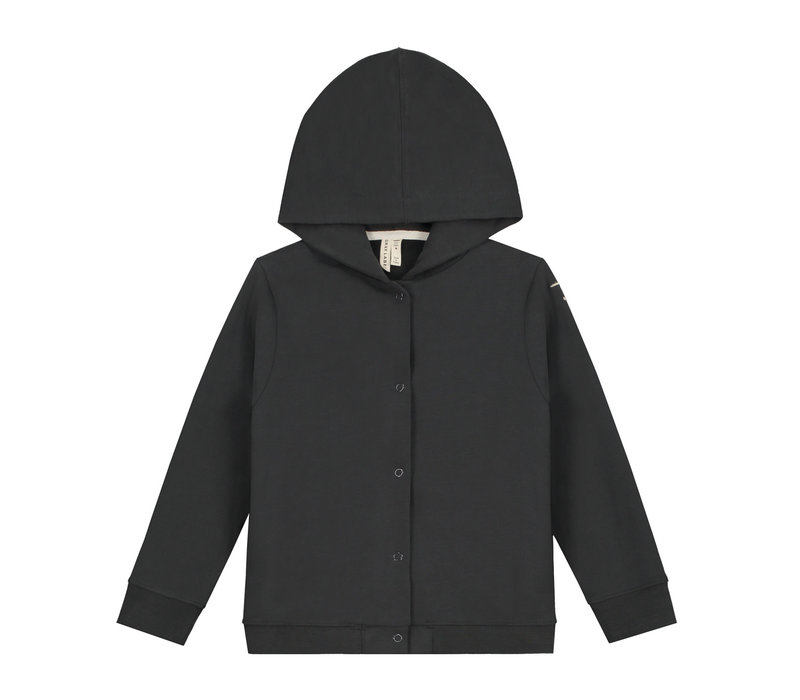 Gray Label Hooded Cardigan Nearly Black