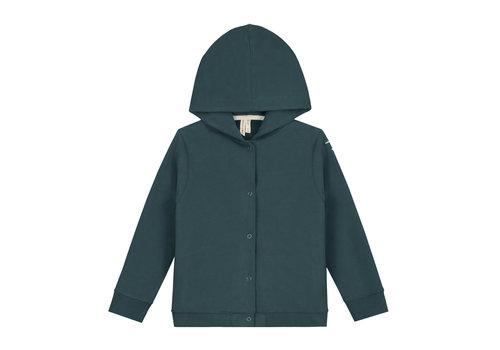 Gray Label Gray Label Hooded Cardigan Blue Grey