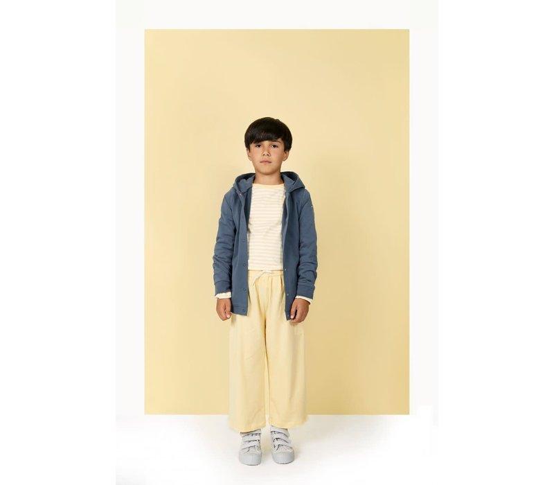 Gray Label Hooded Cardigan Blue Grey