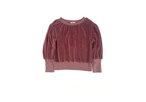 Long Live the Queen LONGLIVETHEQUEEN Puffed Sweater Grape