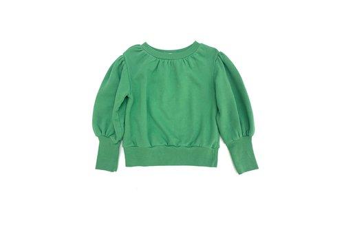 Long Live the Queen LONGLIVETHEQUEEN Puffed Sweater Geen