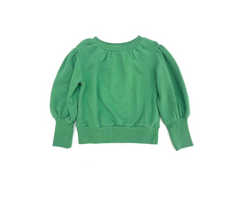 LONGLIVETHEQUEEN Puffed Sweater Green
