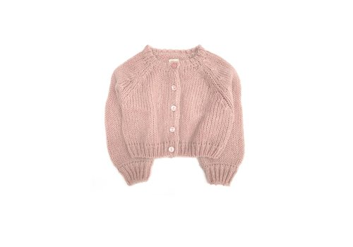 Long Live the Queen LONGLIVETHEQUEEN Cardigan Old Rose