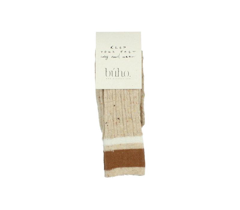 Buho Rib Band Socks