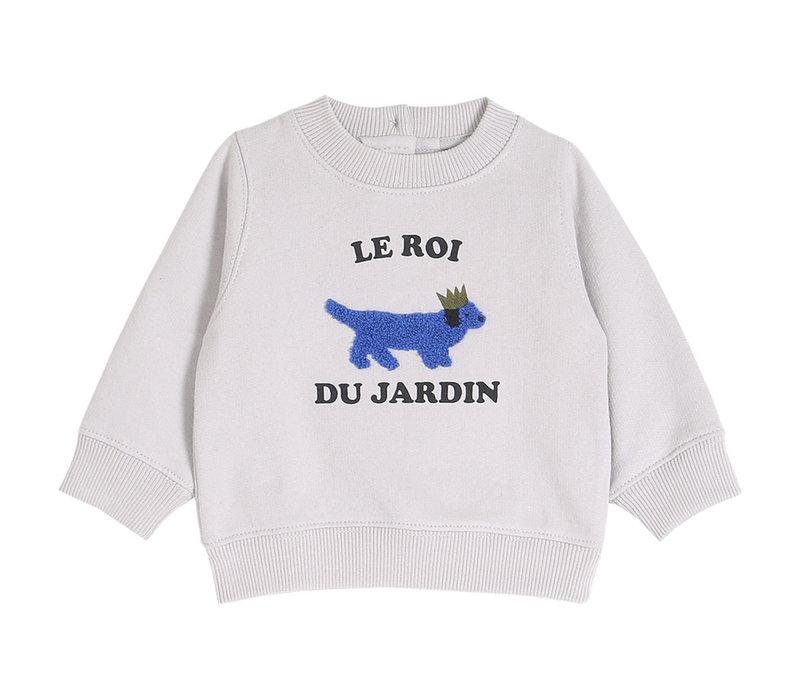 Emile et Ida Sweatshirt Brume Roi Du Jardin