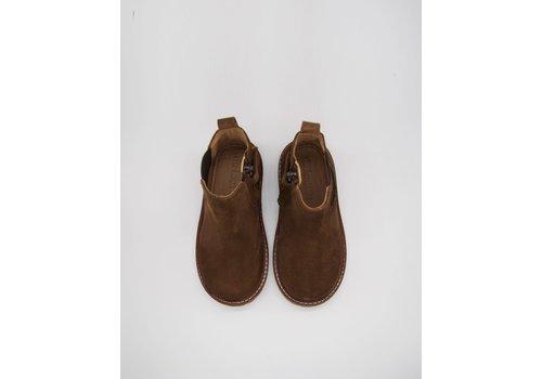 du Loua du Loua Suede Chelsea Boots Chocolat