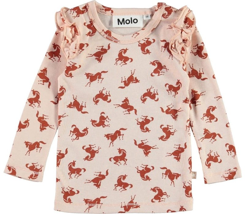 Molo Emma shirt Mini Horse Jersey