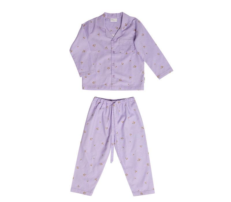 Maed for Mini Lilac Ladybug Pyjamas