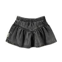 Copy of Piupiuchick Short Skirt v shape Camel Checkered