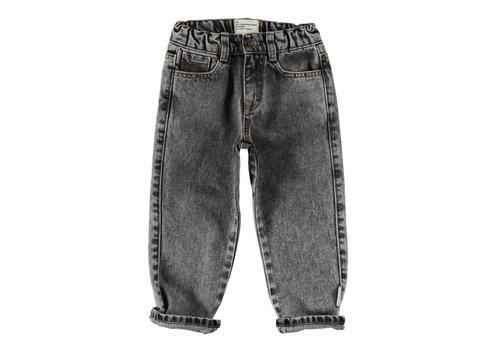 PIUPIUCHICK Piupiuchick Unisex Washed Black Denim Trousers