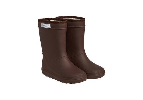 EN FANT Enfant Thermo Boots Dark Brown