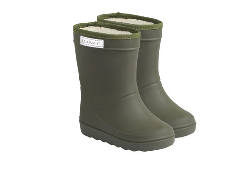 EN FANT Enfant Thermo Boots Dusty Olive