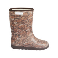 Enfant Thermo Boots Print Chestnut