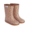 EN FANT Enfant Thermo Boots Print Leather Brown