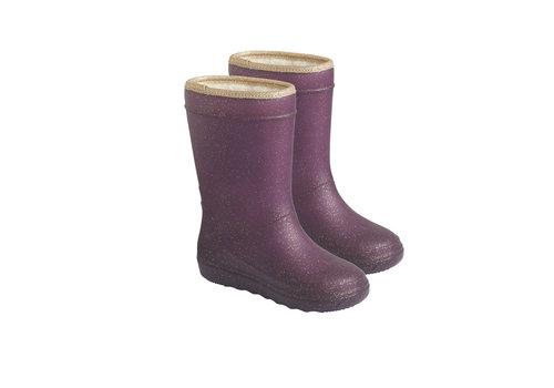 EN FANT Enfant Thermo Boots Glitter Vineyard Wine