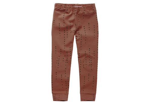 Mingo Mingo Legging Dewdrops Brunished Leather