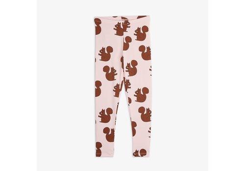 Mini Rodini Mini Rodini Legging Squirrel AOP Pink