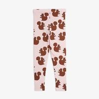 Mini Rodini Legging Squirrel AOP Pink