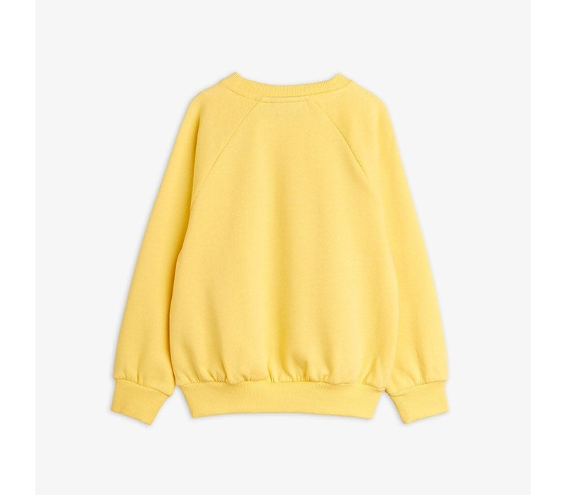 Mini Rodini Blackbird Sweatshirt Yellow