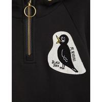 Mini Rodini Blackbird Halfzip Hoodie