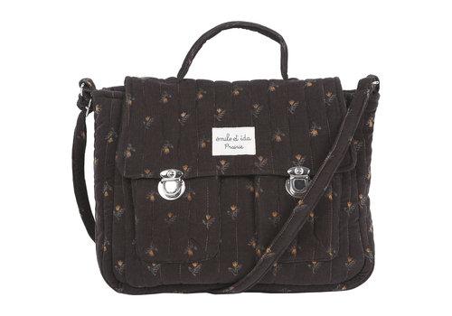 Emile et Ida Emile et Ida Daffodil Velvet Strapped Bag