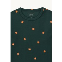 TINYCOTTONS SQUIRREL TEE ink blue/true brown