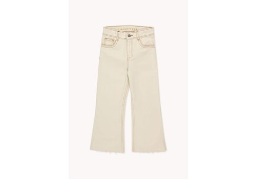 TINYCOTTONS TINYCOTTONS SOLID FLARED PANT light cream