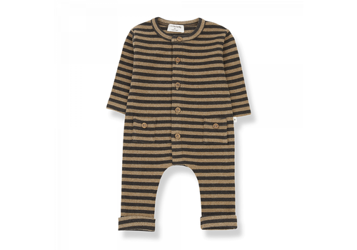 1+ IN THE FAMILY 1+ in the Family Jumpsuit Roman Brandy