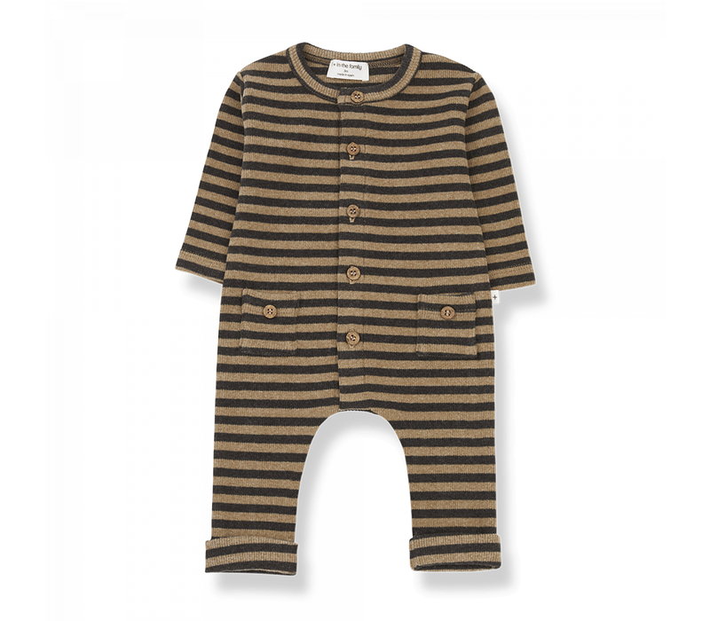 1+ in the Family Jumpsuit Roman Brandy