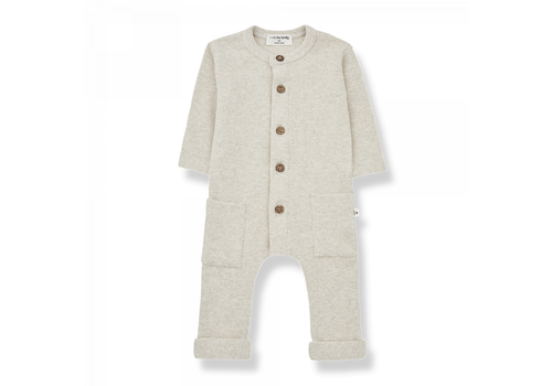 1+ IN THE FAMILY 1+ in the Family Jumpsuit Milos Alabaster