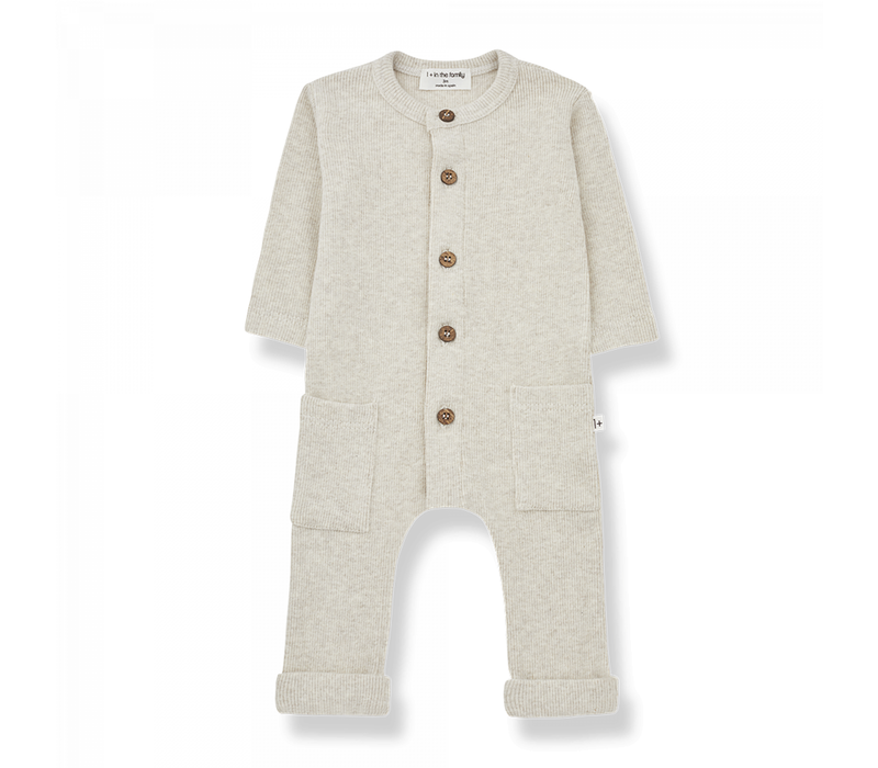 1+ in the Family Jumpsuit Milos Alabaster
