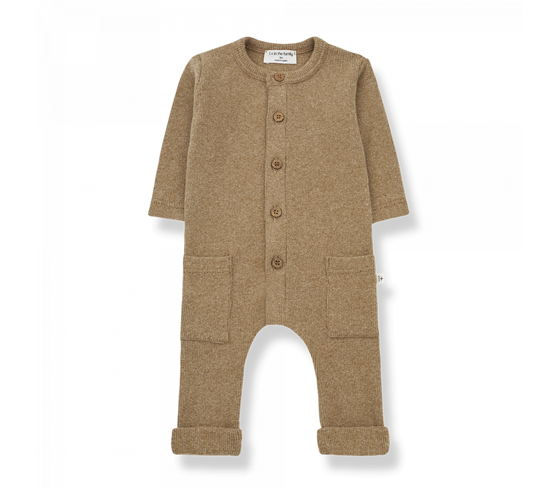 1+ in the Family Jumpsuit Milos Brandy