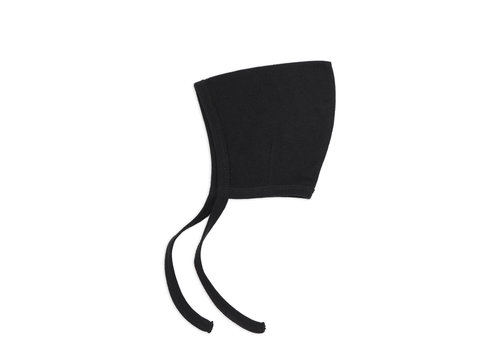 Phil&Phae Phil&Phae Pointed Baby bonnet Carchoal