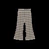 House of Jamie House of Jamie Flared Pants Charcoal Vichy