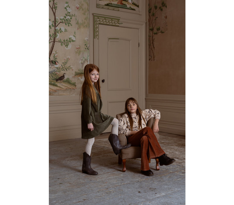 House of Jamie Flared Pants Ginger Rib