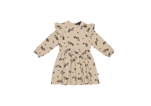 House of Jamie House of Jamie Girls Dress Oatmeal Forest