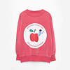 Weekend House Kids Weekend House Kids Red Apple Sweatshirt
