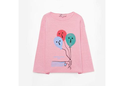 Weekend House Kids Weekend House Kid Balloon Pink Sweatshirt