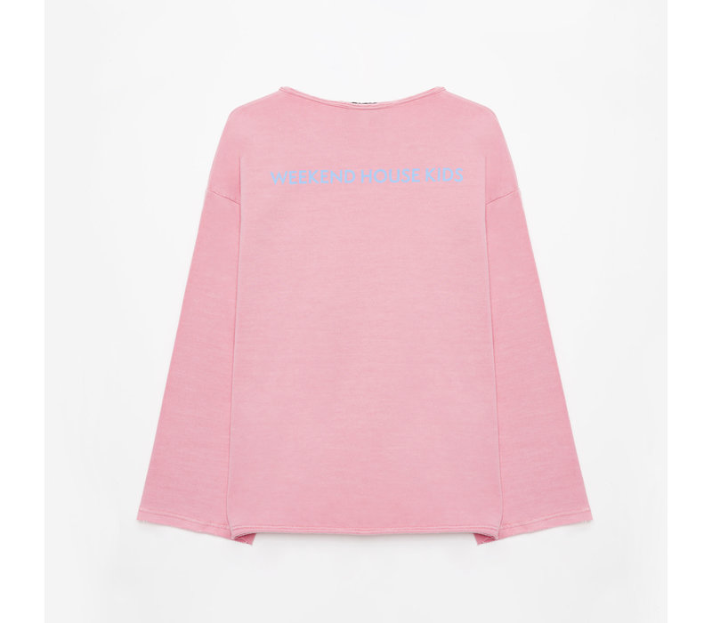 Weekend House Kid Balloon Pink Sweatshirt