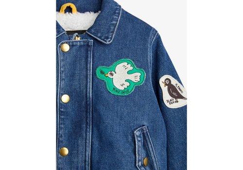 Mini Rodini Mini Rodini Denim patch jacket