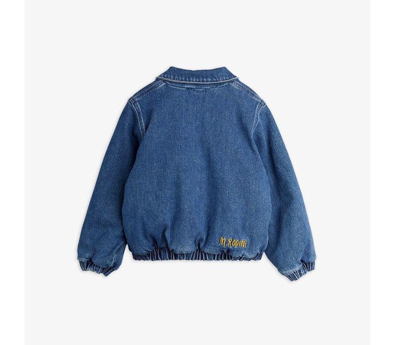Mini Rodini Denim patch jacket