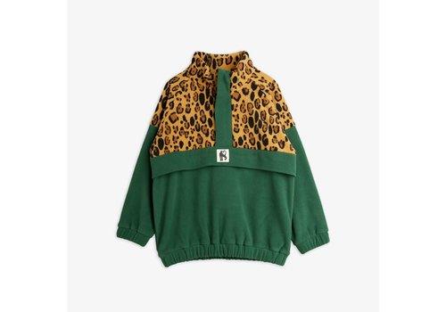 Mini Rodini Mini Rodini Leopard Fleece zip Pullover
