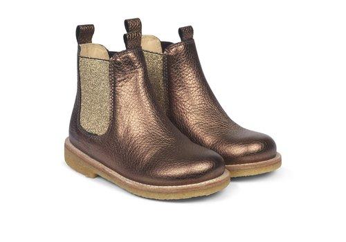Angulus Angulus Chelsea Boot Dark Gold 2192