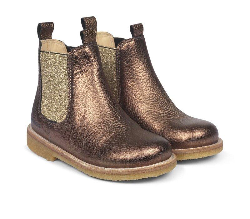Angulus Chelsea Boot Dark Gold 2192